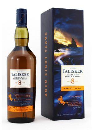 Talisker 8 year Old-First Fill Ex-Bourbon American Oak-F-900x1250-Malt W