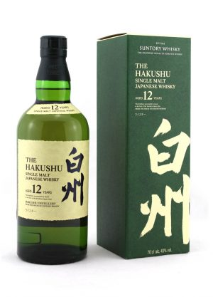 Hakushu 12 Year Old Suntory Single Malt Japanese Whisky-F-900X1250-Malt Whisky Agency