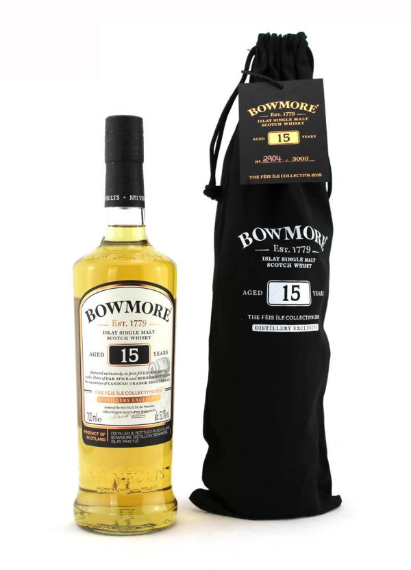 Bowmore 15 year Old Feis Ile 2019-F1-900x1250-Malt Whisky Agency