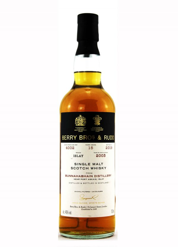 Bunnahabhain-Berry Bros & Rudd 15 Year Old-F-900x1250-Malt Whisky Agency