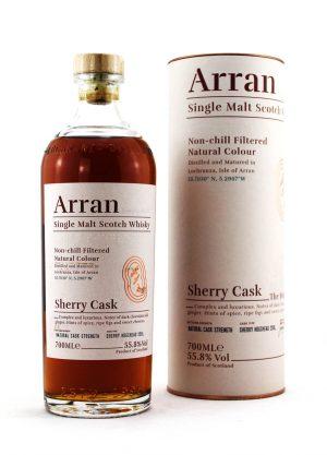 Arran Sherry Hogshead Cask-F-900x1250-Malt Whisky Agency