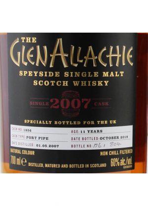 Glen Allachie 11 Year Old 2007-R-900x1250-Malt Whisky Agency
