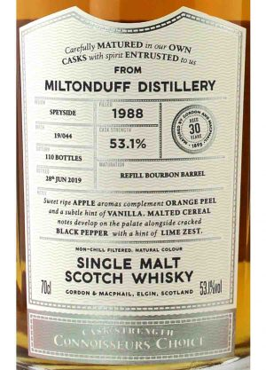 Miltonduff-Gordon & Macphail 30 Year Old-L-900x1250-Malt Whisky Agency