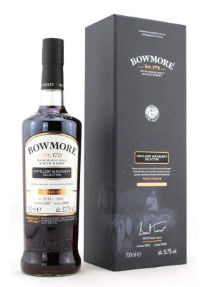 Bowmore 1997 Vintage Limited Release B2146-F-900x1250-Malt Whisky Agency