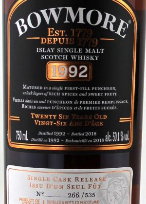 Bowmore Canadian 1992 50.1%-L1-900x1250-Malt Whisky Agency