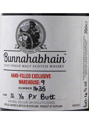 Bunnahabhain 12 Year Old PX Butt 60.4%-20cl-L-900x1250-Malt Whisky Agency