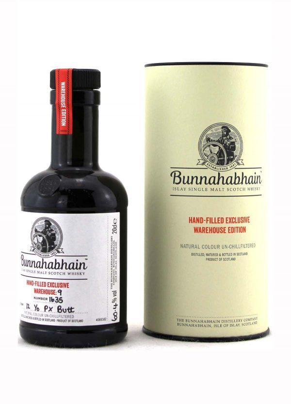Bunnahabhain 12 Year Old Pedro Ximenez 55.4%-20cl-F2-900x1250-Malt Whisky Agency