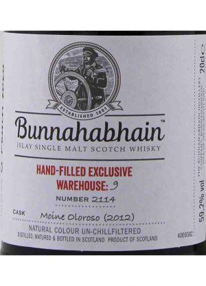 Bunnahabhain 7 YO Moine Oloroso 59.2% 20cl-L2-900x1250-Malt Whisky Agency