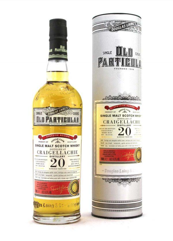 Douglas Laing - Craigellachie 20 Year Old Single Cask 51.5%-F-900x1250-Malt Whisky Agency