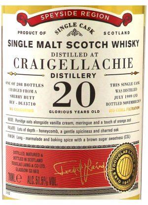 Douglas Laing - Craigellachie 20 Year Old Single Cask 51.5%-L-900x1250-Malt Whisky Agency