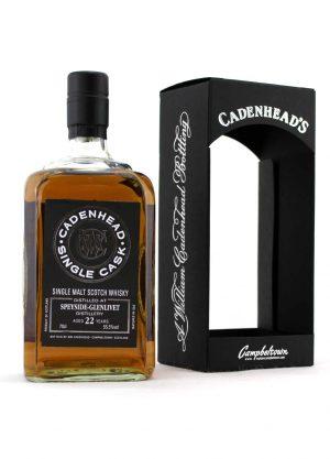 Speyside Glenlivet 1996 Cadenheads 22 Year Old 55.5%-F-900x1250-Malt Whisky Agency