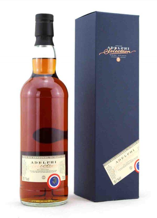 Adelphi-Bas Armagnac 25 Year Old 55.1%-F-900x1250-Malt Whisky Agency