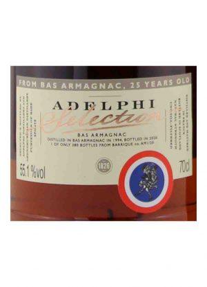 Adelphi-Bas Armagnac 25 Year Old 55.1%-L-900x1250-Malt Whisky Agency
