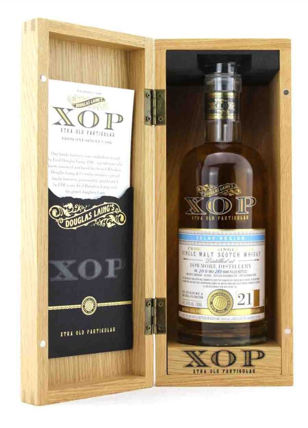 Bowmore-Douglas Laing XOP 21 Year Old 57.6%-O-900x1250-Malt Whisky Agency