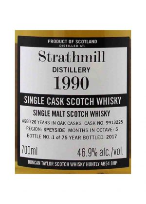 Strathmill The Octave-Duncan Taylor 1995 46.9%-L-900x1250-Malt Whisky Agency