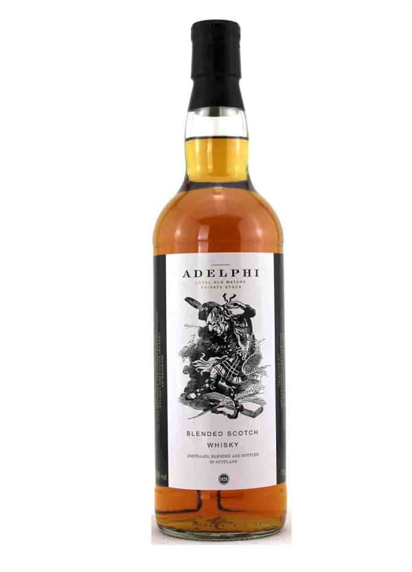 Adelphi Dancey Man Blended Scotch Whisky -F-900x1250-Malt Whisky Agency