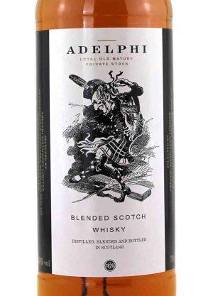 Adelphi Dancey Man Blended Scotch Whisky -L1-900x1250-Malt Whisky Agency