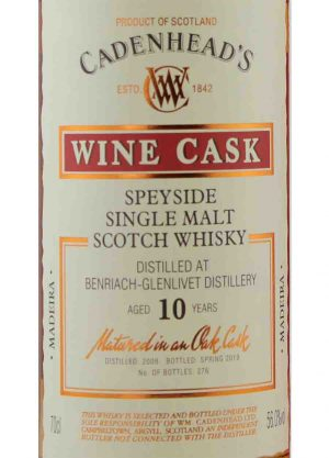 Benriach-Glenlivet-Cadenheads 10 Year Old 56.0%-L-900x1250-Malt Whisky Agency