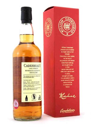 Benriach-Glenlivet-Cadenheads 10 Year Old 56.0% -R-900x1250-Malt Whisky Agency