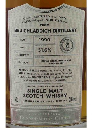 Bruichladdich-Gordon & MacPhail 29 Year Old 51.6%-L-900x1250-Malt Whisky Agency