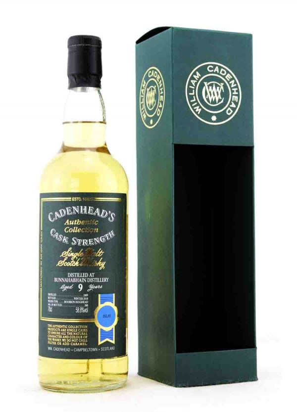 Bunnahabhain-Cadenhead's 9 Year Old 2009 58.8%-F1-900X1250-Malt Whisky Agency