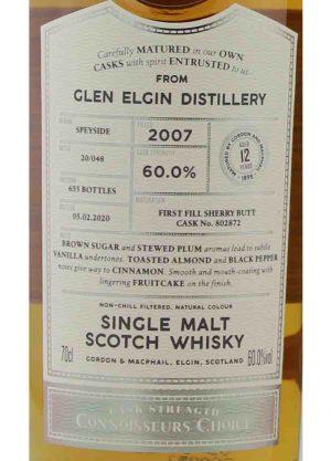 Glen Elgin-Gordon & MacPhail 12 Year Old-L-900x1250-Malt Whisky Agency