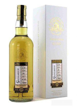 Glengarioch-Duncan Taylor 25 Year Old 47%-F-900x1250-Malt Whisky Agency