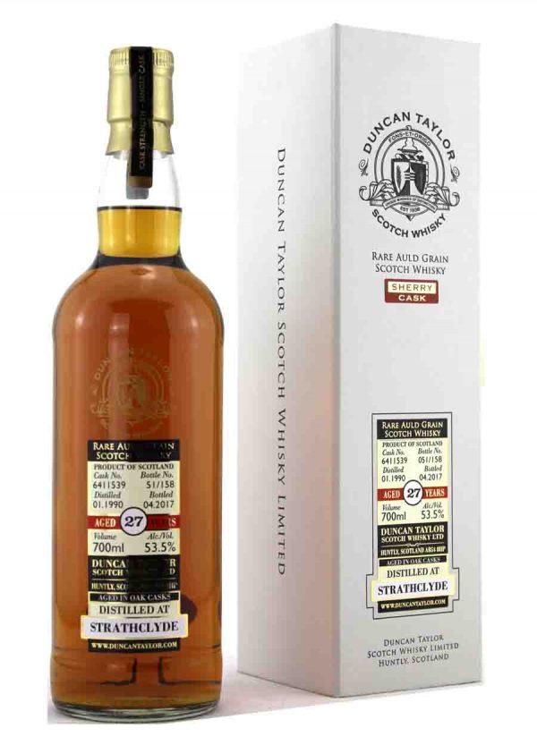 Strathclyde-Duncan Taylor 1990 27 Year Old 53.5%-F-900x1250-Malt Whisky Agency