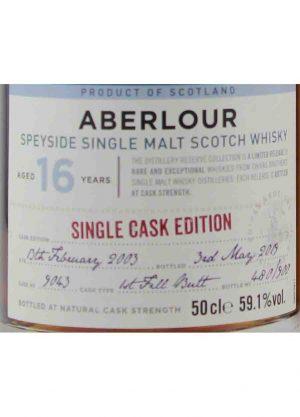 Aberlour 16 Year Old Single Cask Edition 59.1% 50cl-L-900x1250-Malt Whisky Agency