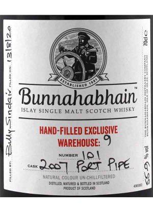 Bunnahabhain 2007 Port Pipe 55.9%-L-900x1250-Malt Whisky Agency