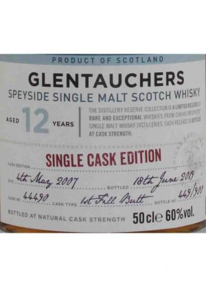 Glentauchers 12 Year Old Single Cask Edition -L-900x1250-Malt Whisky Edition