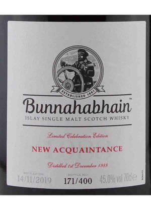 Bunnahabhain 1988 New Acquaintance-L1-900x1250-Malt Whisky Agency