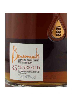 Benromach 35 Year Old Single Malt Scotch Whisky 43%-L-900x1250-Malt Whisky Agency