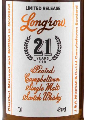 Longrow 21 Year Old 2020 Release 46%-R-900x1250-Malt Whisky Agency
