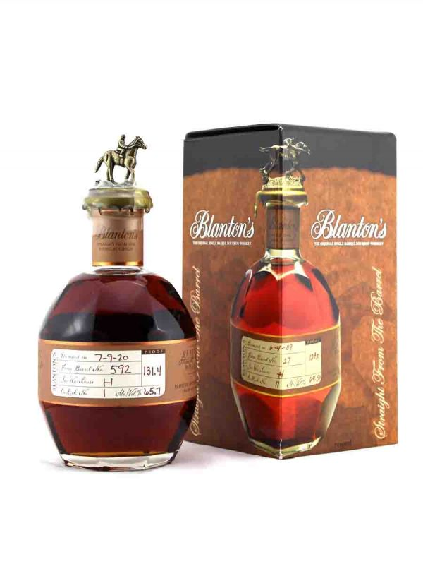 Blanton's Straight From The Barrel 65.7%-F-900X1250-Malt Whisky Agency