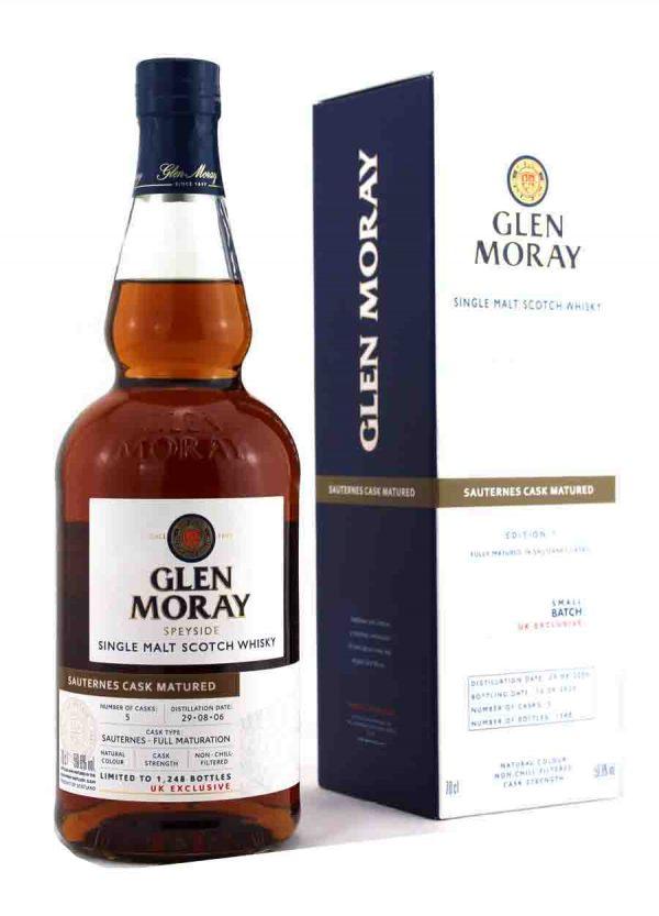 Glen Moray Sauternes Cask Matured 59.6%-F1-900x1250-Malt Whisky Agency