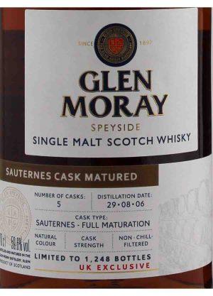Glen Moray Sauternes Cask Matured 59.6%-L-900x1250-Malt Whisky Agency