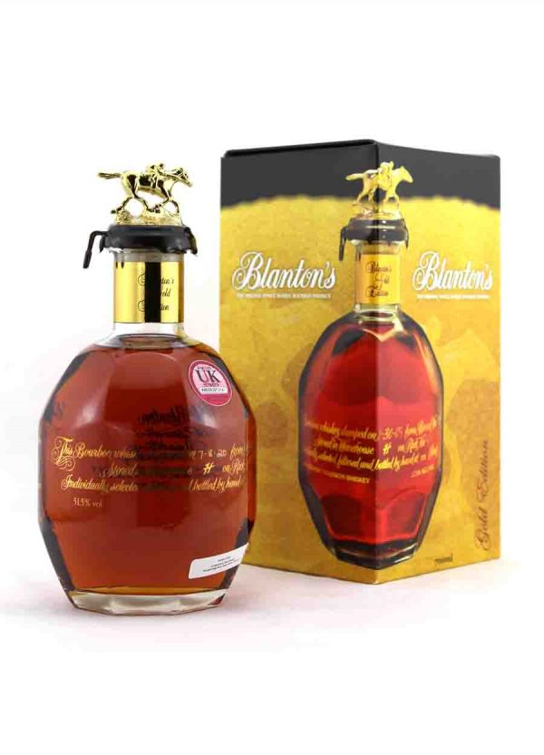 Blanton's Gold Edition Bourbon Whiskey Barrel No.546 51.5%-F-900x1250-Malt Whisky Agency