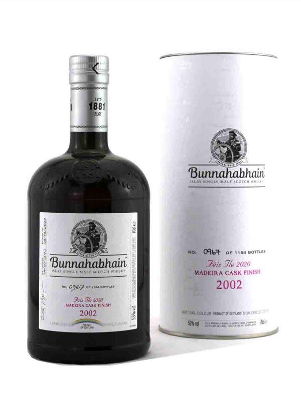 Bunnahabhain 2002 Feis Ile 2020 53.0%-F-900x1250-Malt Whisky Agency