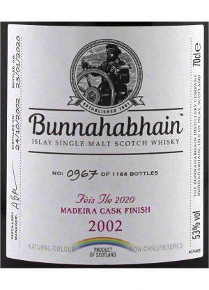 Bunnahabhain 2002 Feis Ile 2020 53.0%-L-900x1250-Malt Whisky Agency
