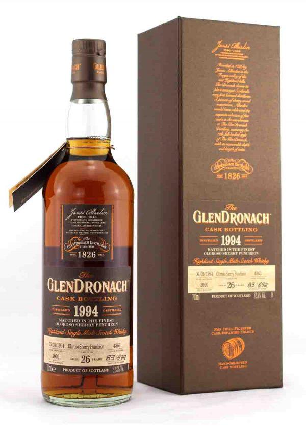GlenDronach 26 Year Old 1994 Cask 4363 52.8%-F-900x1250-Malt Whisky Agency