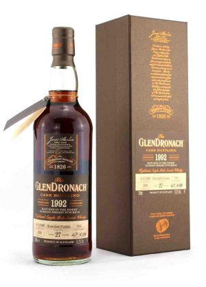 Glendronach 27 Year Old 1992 Cask 7411 53.2%-F-900x1250-Malt Whisky Agency