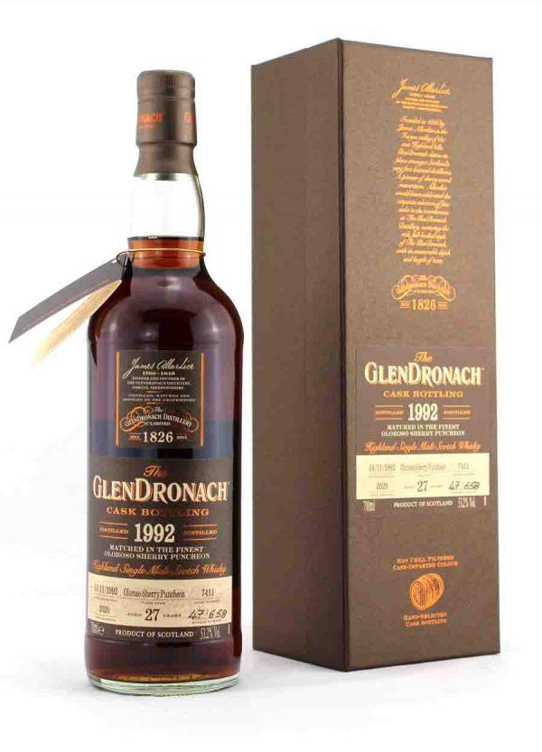 Glendronach 27 Year Old 1992 Cask 7411 53.2%-F-900x1250-Malt Whisky Agency