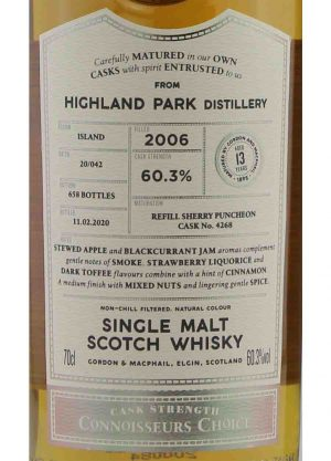 Highland Park-Gordon & MacPhail 13 Year Old 60.3%-L1-900x1250-Malt Whisky Agency