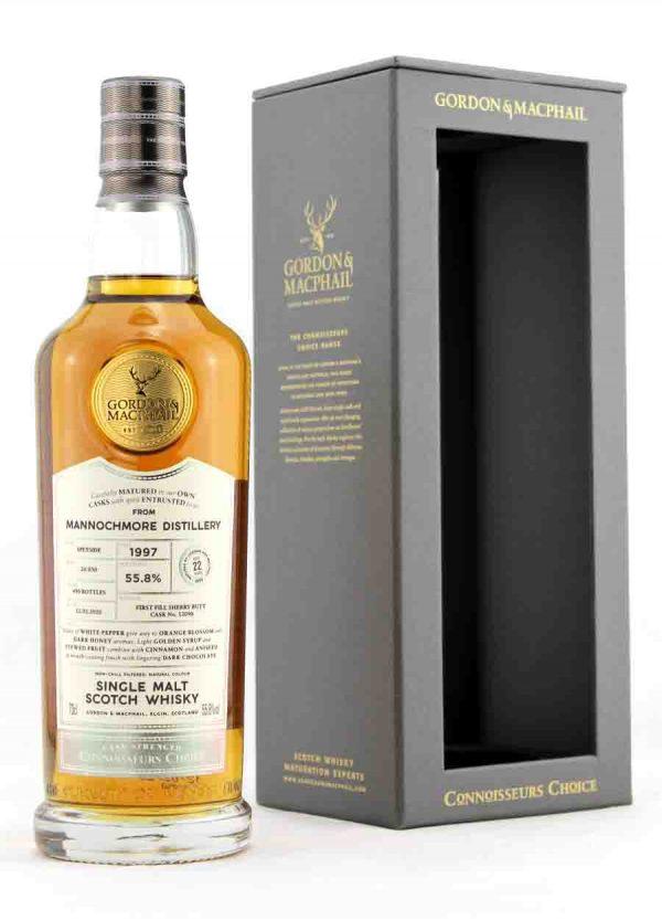 Mannochmore-Gordon & MacPhail 22 Year Old 55.8%-F1-900x1250-Malt Whisky Agency