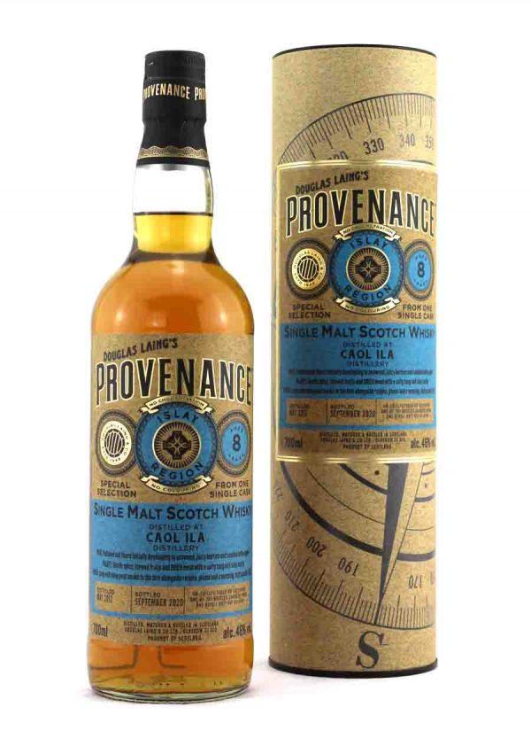 Provenance-Caol Ila 8 Year Old 46%-F-900x1250-Malt Whisky Agency