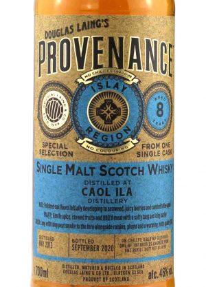 Provenance-Caol Ila 8 Year Old 46%-L-900x1250-Malt Whisky Agency