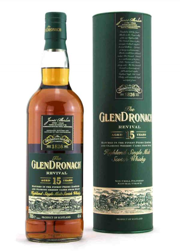 Glendronach 15 year Old Revival 46%-F-900x1250Malt Whisky Agency