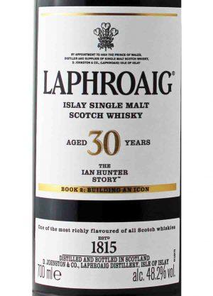 Laphroaig 30 Year Old The Ian Hunter Story Book 2 48.2%-L-900X1250-Malt Whisky Agency