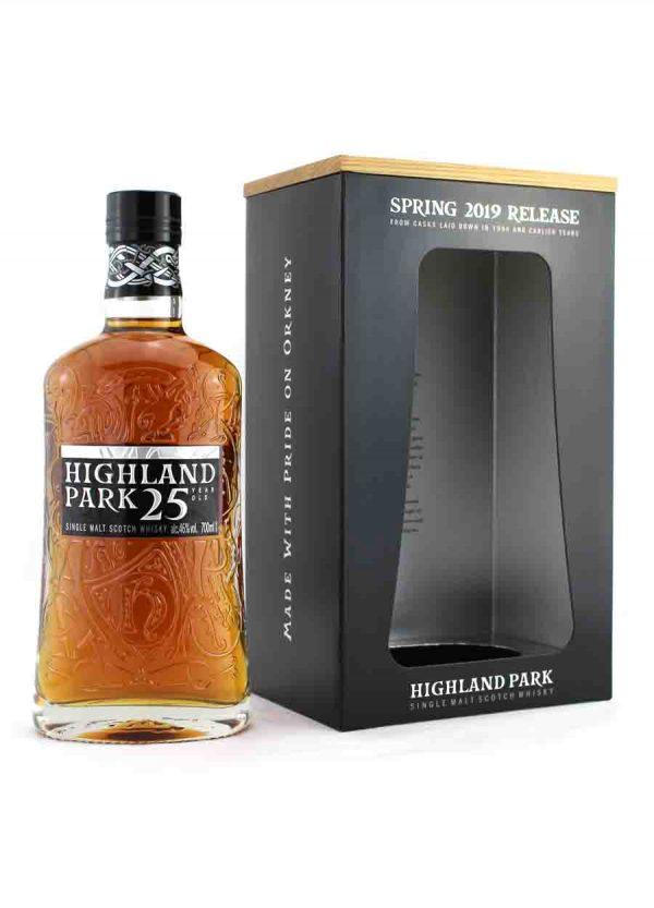 Highland Park-25 Year Old Spring 2019 Release 46%-F-900x1250-Malt Whisky Agency